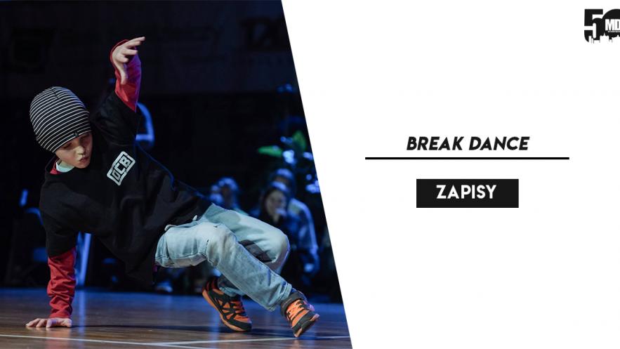 Zapisy na break dance trwają! Kliknięcie w obrazek spowoduje wyświetlenie jego powiększenia